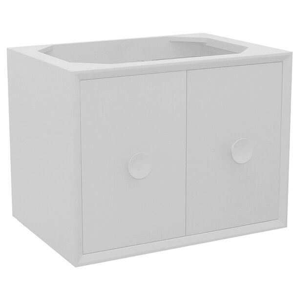 Crumley 30 Wall Mounted Single Bathroom Vanity by George Oliver
