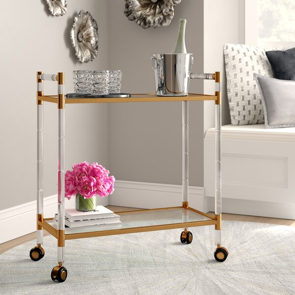 Reynaldo Bar Cart by Willa Arlo Interiors Willa Arlo Interiors