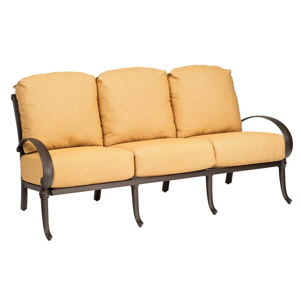 Holland Patio Sofa with Cushions by Woodard