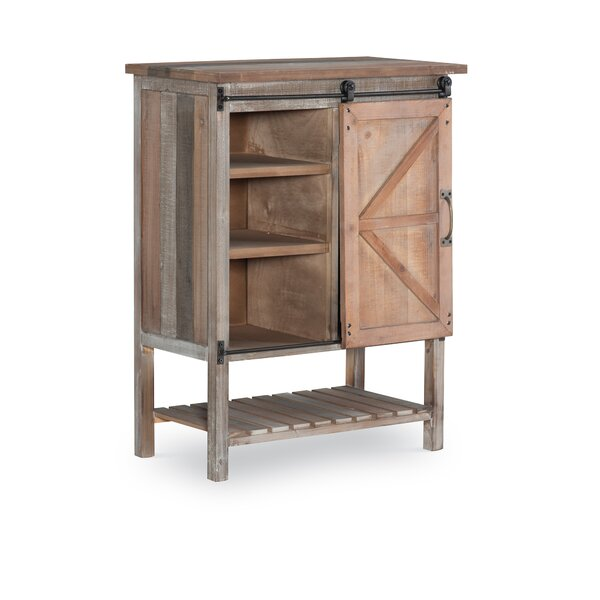 Marshal 1 Door Square Accent Cabinet