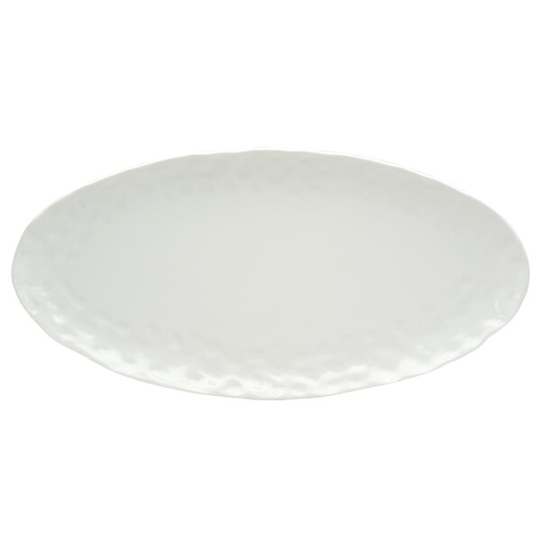 Vanilla Marble Oval Platter by Red Vanilla