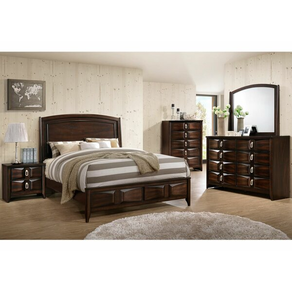Cheserfo Platform Solid Wood Configurable Bedroom Set by Red Barrel Studio