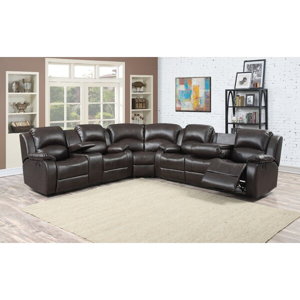 Rahn Left Hand Facing Reclining Sectional By Red Barrel Studio