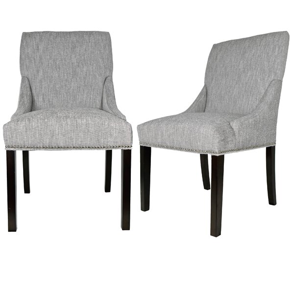 Lucky Upholstered Dining Chair (Set of 2) by Sole Designs