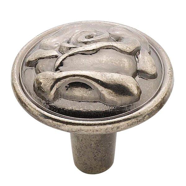 Rose Mushroom Knob by Knobware