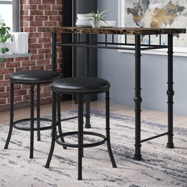 Giles 3 Piece Dining Set by Williston Forge
