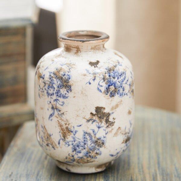 Bud Terra Cotta 3 Piece Table Vase Set (Set of 3) by Lark Manor