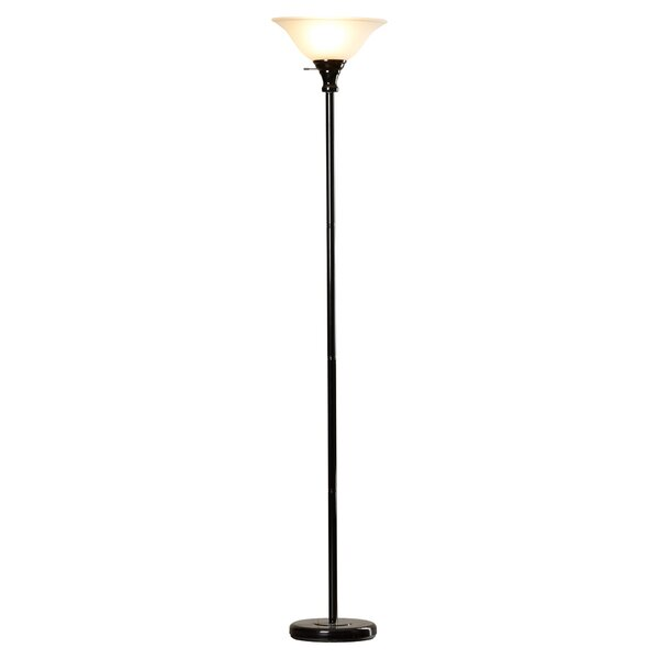 Elyse 70 Torchiere Floor Lamp by Charlton Home