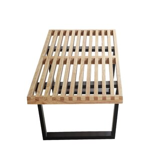 Wood Bench by Fine Mod Imports