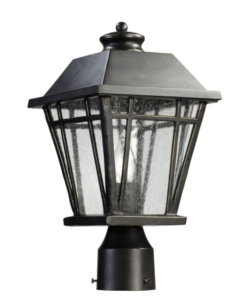 Earby Outdoor 1-Light Lantern Head by Charlton Home