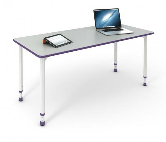 A&D 60'' x 20'' Rectangular Activity Table by Paragon Furniture
