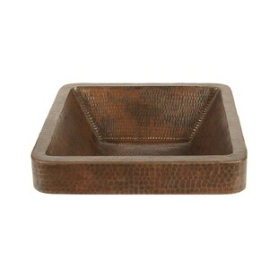 Best Price Metal Square Vessel Bathroom Sink By Premier Copper Products