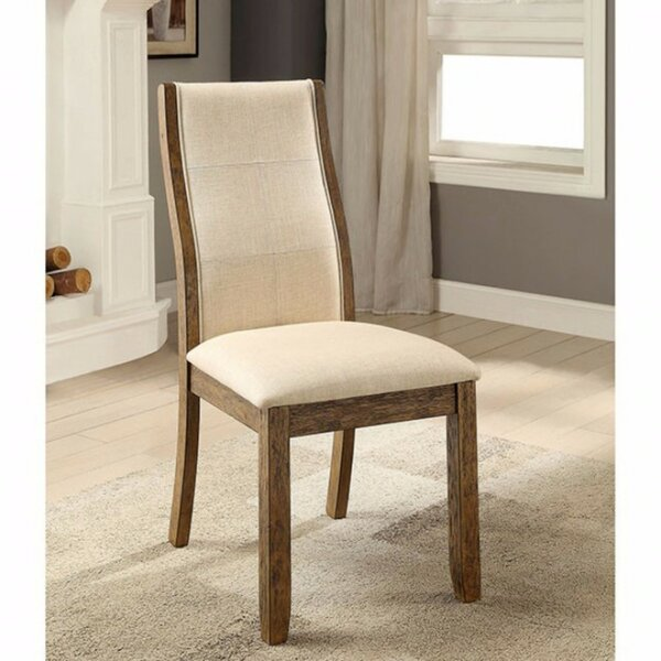 Rogerson Upholstered Dining Chair (Set of 2) by Latitude Run