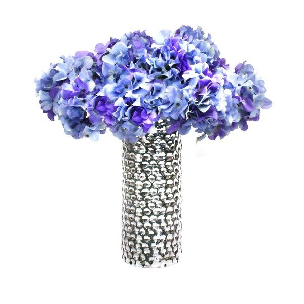 Hydrangeas in Decorative Vase by Dalmarko Designs
