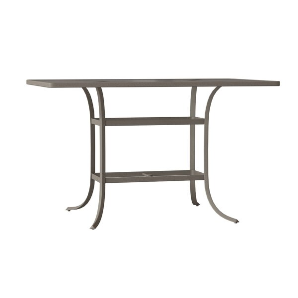 Valora Plastic/Resin Bar Table by Tropitone