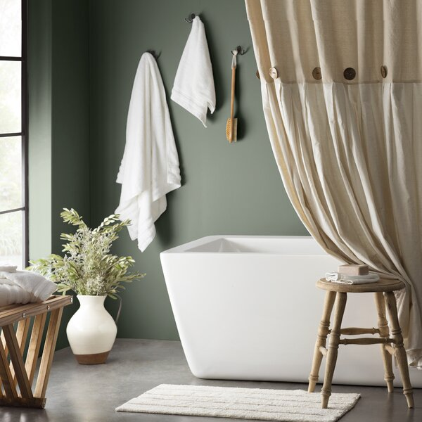 Beckham Single Shower Curtain by Eider & Ivory