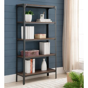 5 Tier Etagere Bookcase