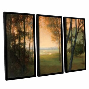 Between The Worlds 3 Piece Framed Painting Print by Charlton Home