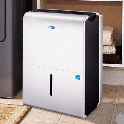 Elite D-Series 30 Pint Portable Dehumidifier with Casters by Whynter