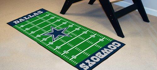 NFL - Dallas Cowboys Football Field Runner by FANMATS
