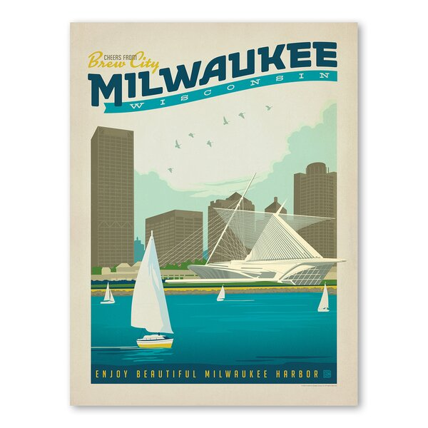 Milwaukee Vintage Advertisement by East Urban Home