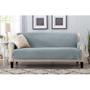 Great Bay Home Box Cushion Sofa Slipcover