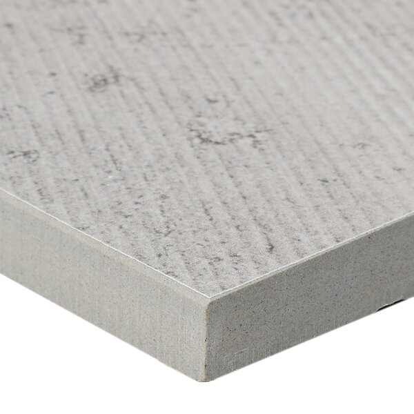 Rowe Plank 6 x 48 Porcelain Field Tile in Haze by Itona Tile