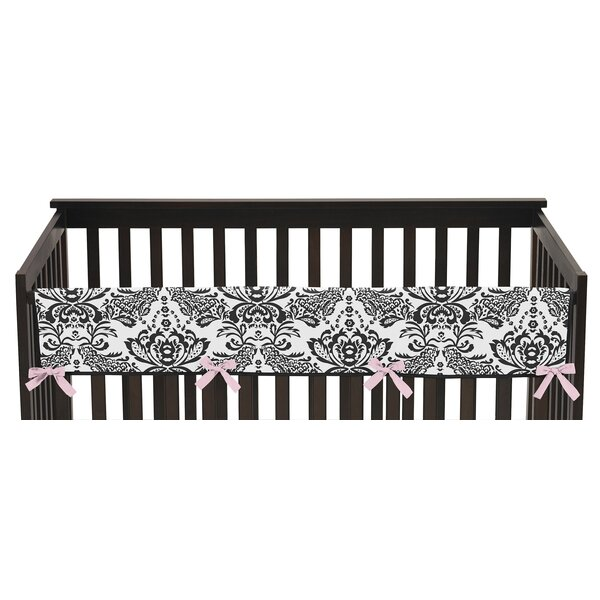 Sophia Long Crib Rail Guard Cover by Sweet Jojo Designs