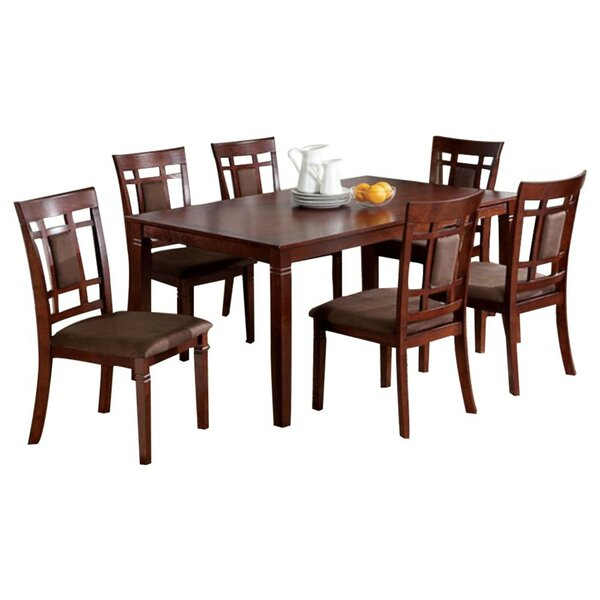 Brunilda 7 Piece Dining Set by World Menagerie