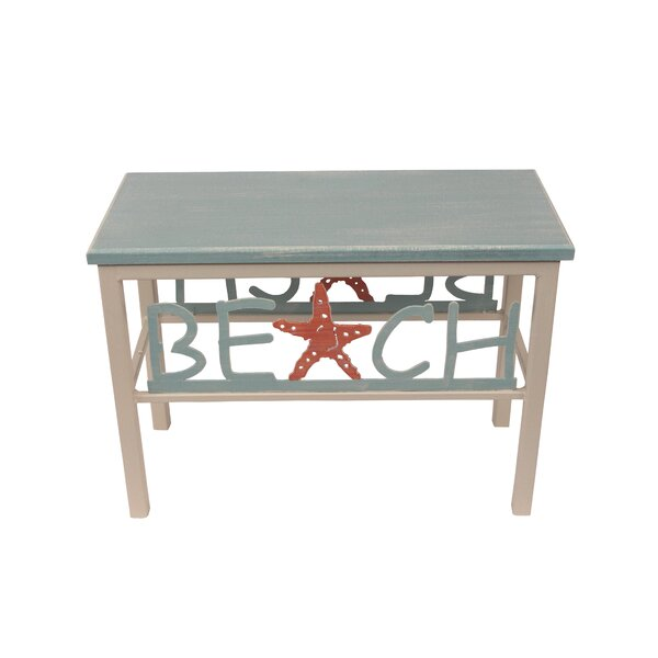 Innis Beach/Starfish Wood Bench by Highland Dunes