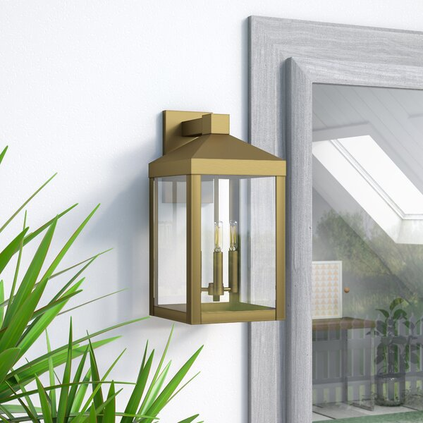 Demery 3-Light Outdoor Wall Lantern by Mercury Row
