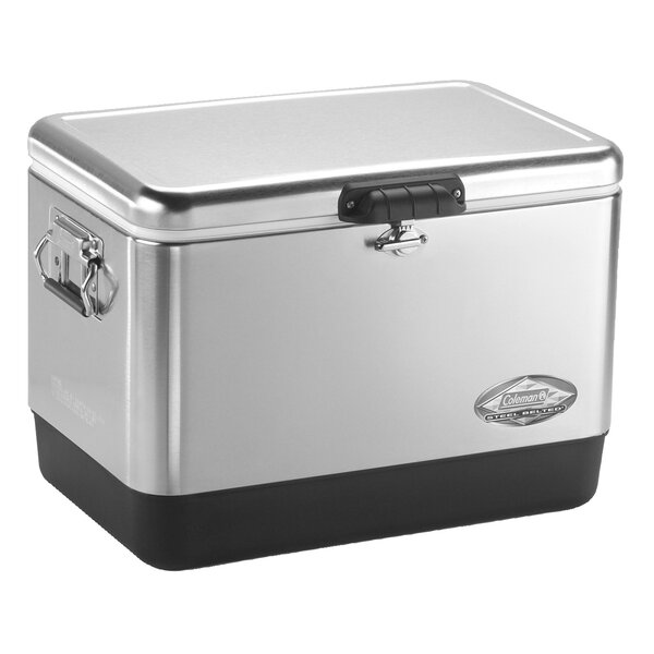 54 Qt. Stainless Steel Cooler by Coleman