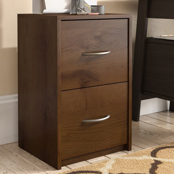 Ivan 2 Drawer File Cabinet by Andover Mills