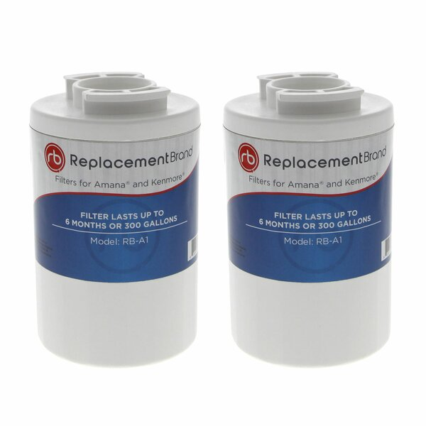 Comparable Refrigerator Filter (Set of 2) by ReplacementBrand