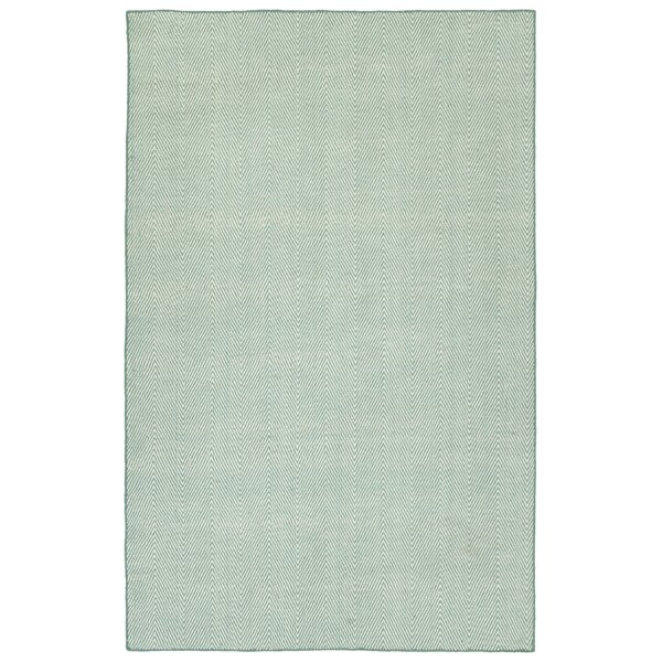 Buell Hand Woven Blue Indoor/Outdoor Area Rug by Ivy Bronx