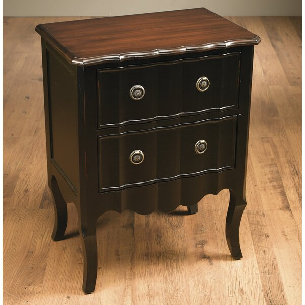 2 Drawer Nightstand By AA Importing