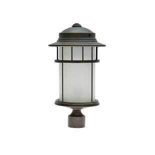 Compare prices Laudalino 1-Light 20 Post Light By Darby Home Co