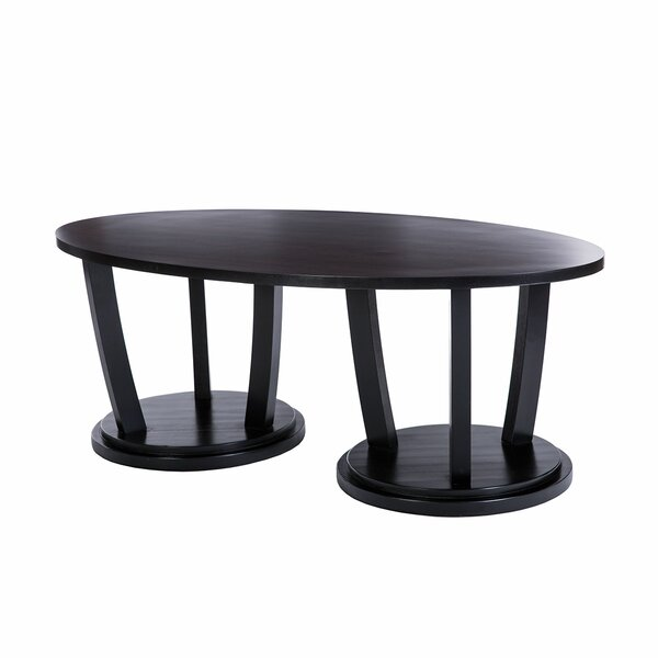 Newport Solid Wood Abstract Coffee Table By Akin