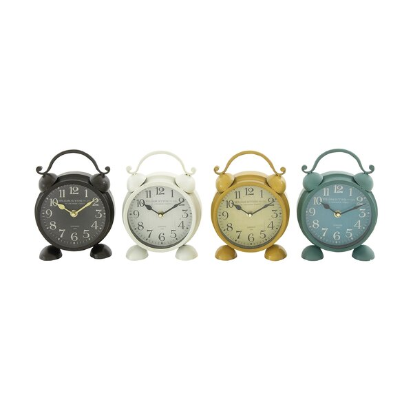 Table Clock (Set of 4) by Darby Home Co
