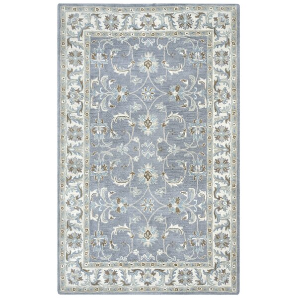 Gillison Hand-Tufted Blue Area Rug by Alcott Hill