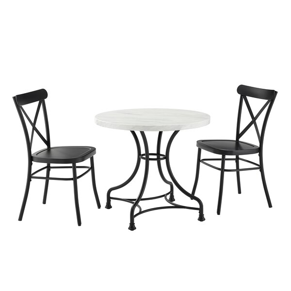 Peru 3 Piece Dining Table by Gracie Oaks Gracie Oaks