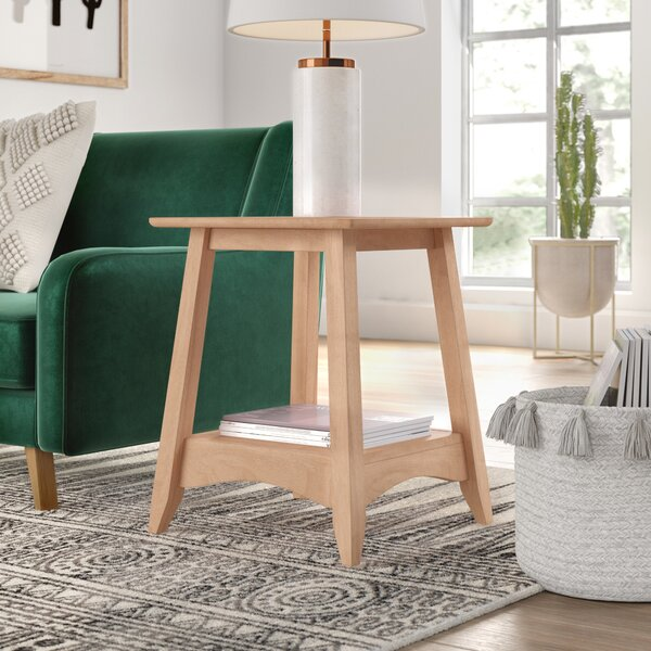 Lynn Bombay End Table by Mistana