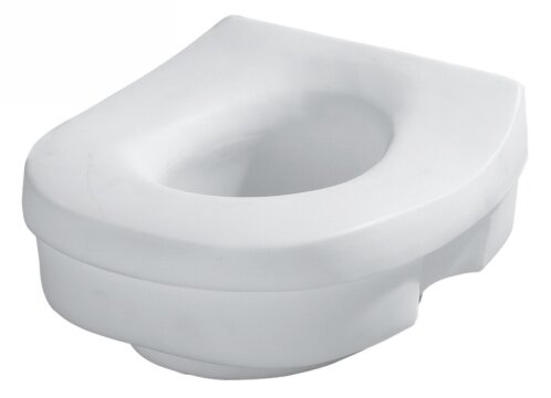 Elevated Round Toilet Seat By Home Care By Moen.