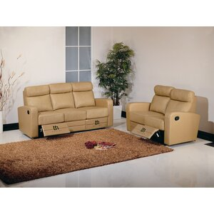 Dual Leather Configurable Living Room Set by Hokku Designs