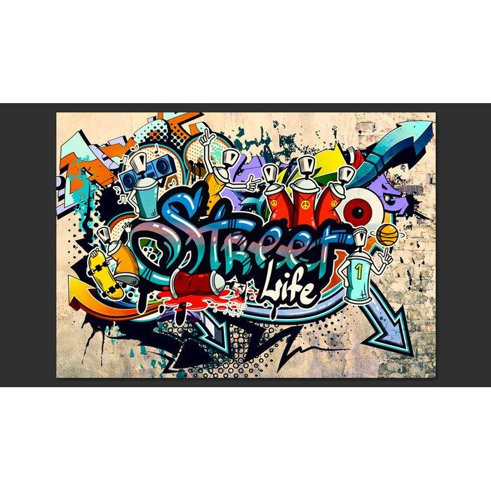 Street Life 280m X 400cm Wallpaper