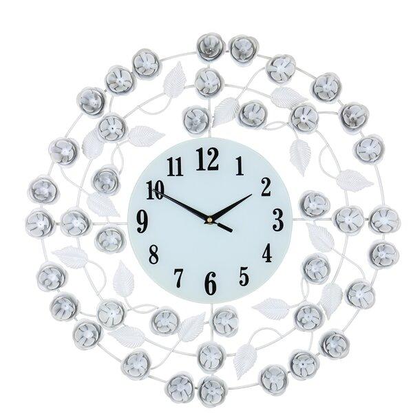 Lacasse Elegant Circular 21 Wall Clock by Winston Porter