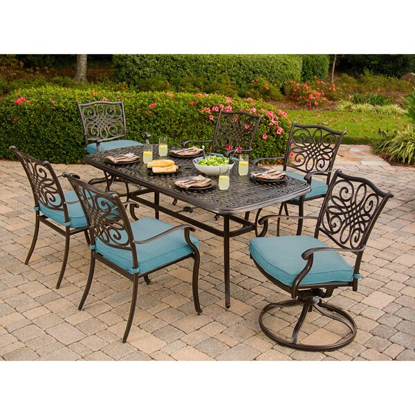 Barrowman 7 Piece Dining Set by Darby Home Co