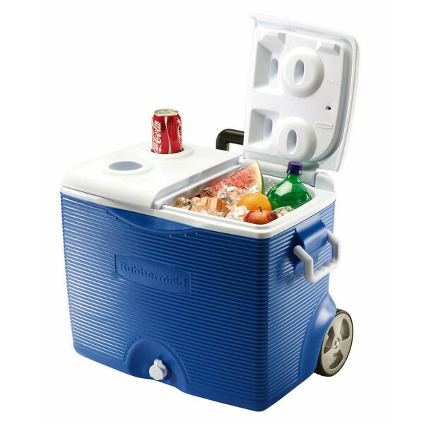 45 Qt. Rolling Cooler by Rubbermaid