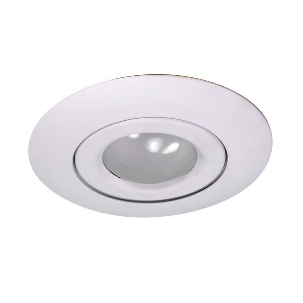 Gimbal Ring 6 Recessed Trim by NICOR Lighting