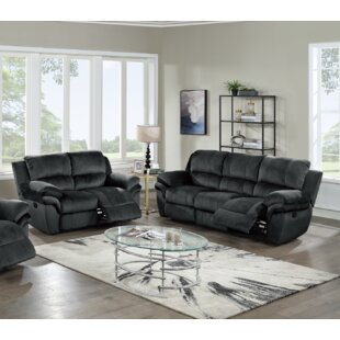 Valorie 2 Piece Reclining Living Room Set by Red Barrel Studio®